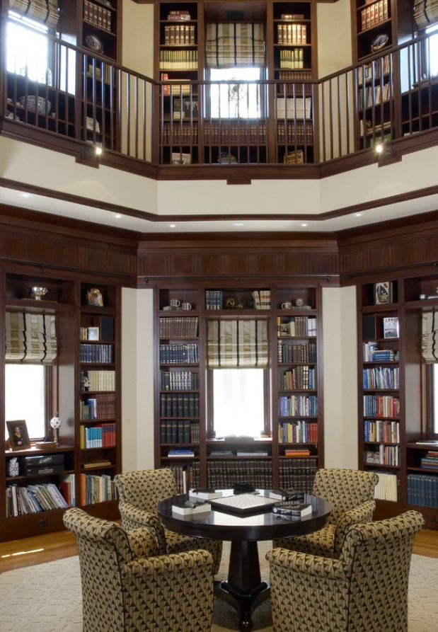 Private Library Design luxury-private library   libraries   pinterest   houzz, interiors