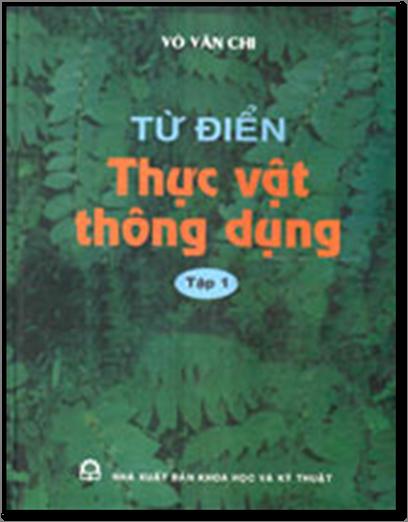 Ghim trên từ điển thực vật thông dụng