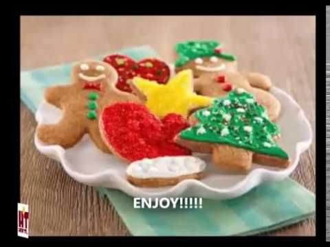 How to bake Christmas special sugar cookies | Decorated Christmas special cookie