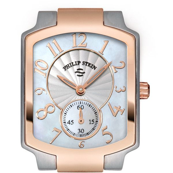 Philip Stein Small Classic TwoTone Rose Gold Watch Head 740 AED