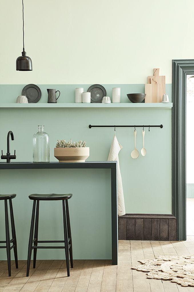 Little Greene Paint Blog Colour Pinterest Cuisine Verte