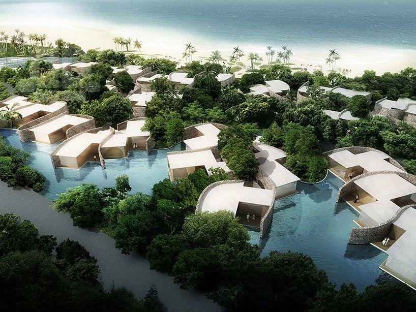 AS architecture-studio designs vernacular sanya west resort