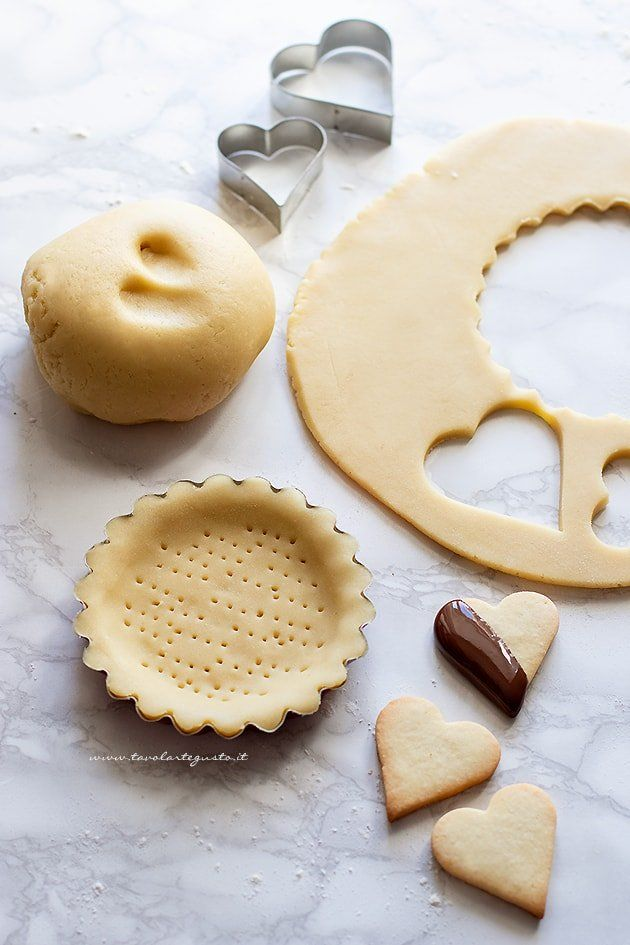 Photo of Gluten-free shortcrust pastry, for tarts and biscuits! (with fa …