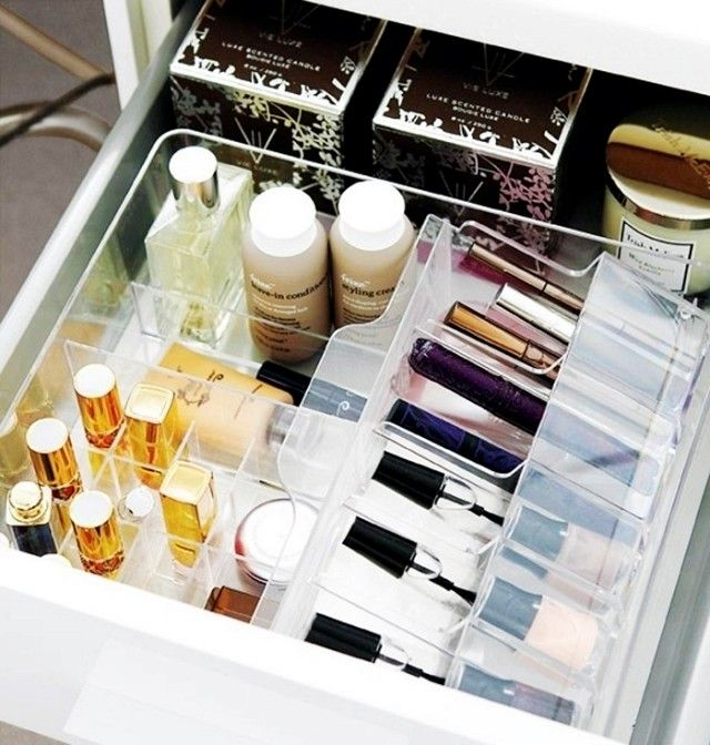 7 GENIUS Makeup Organization Tricks You Can Use Right Now via @byrdiebeauty