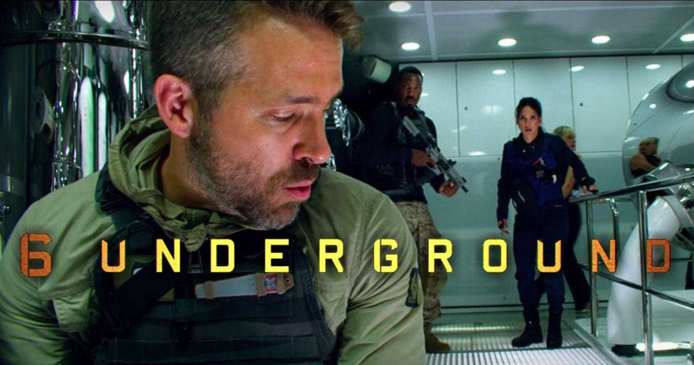 '6 Underground' Netflix l'inseguimento in auto in Italia
