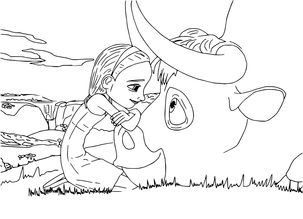 ferdinand coloring pages Ferdinand Coloring Pages Ferdinand and Nina | Activities  ferdinand coloring pages