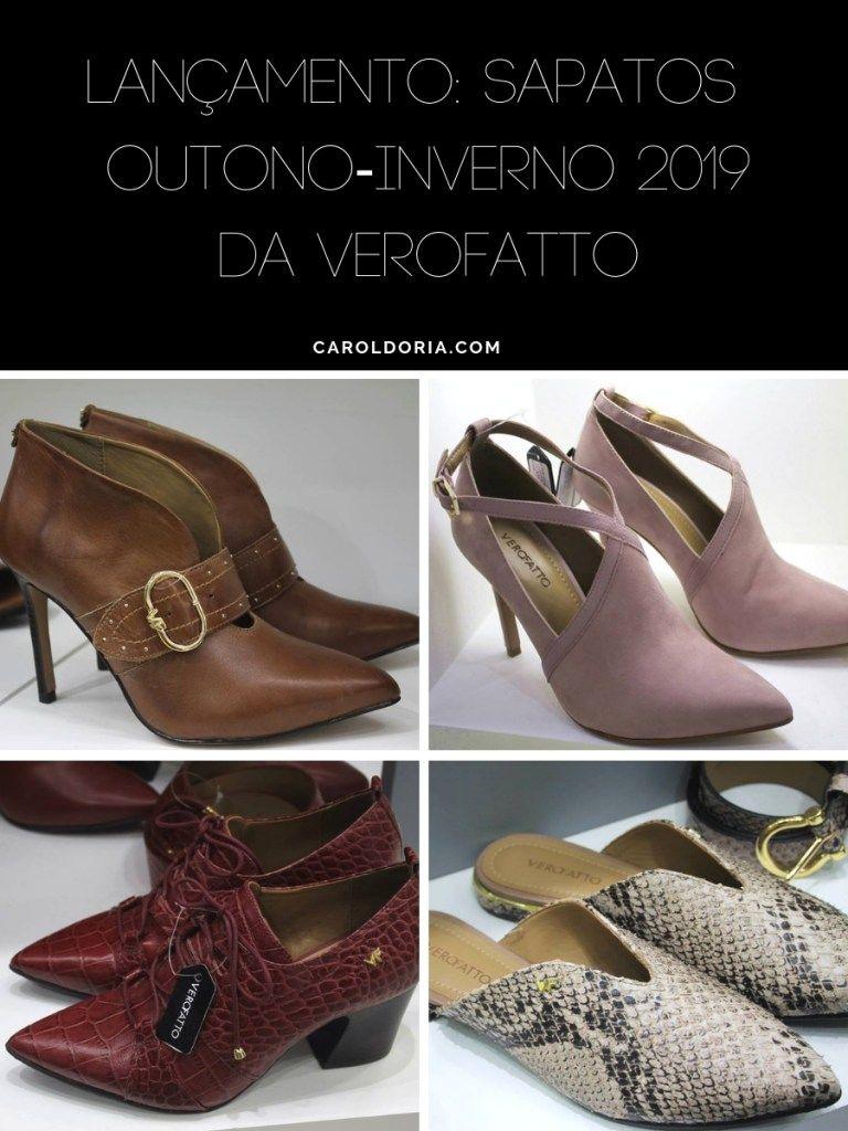 0b96e34aa Lançamento: Sapatos Outono-Inverno 2019 da Verofatto, sapatos 2019,  tendência de sapatos
