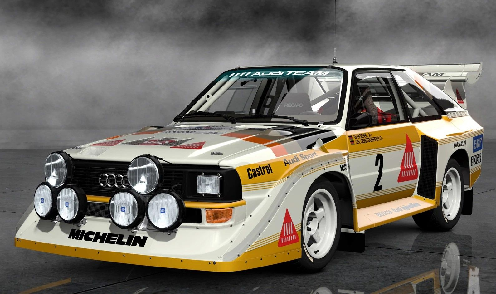Image Audi Sport Quattro S Rally Car Jpg Gran Turismo - Audi car wiki