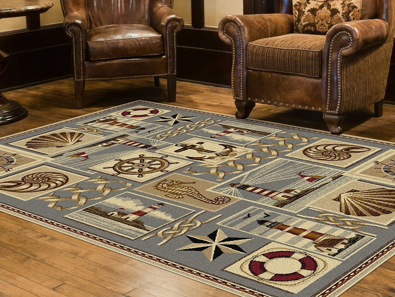 Nautical Area Rugs Discover Our Favorite Themed For Your Coastal Home Favoritearearugs