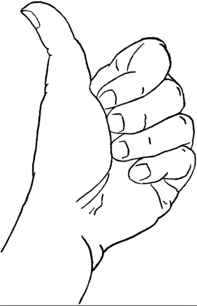 Hand Grip Drawing : drawing, GRIP!.., Aerial, Training, Thumbs, Drawing,