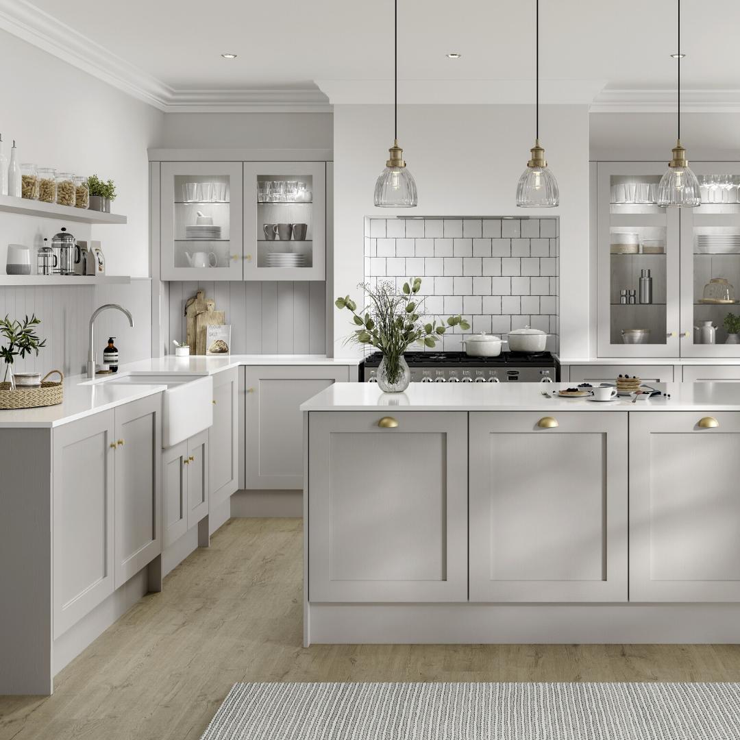 Chilcomb Dove Grey Kitchen