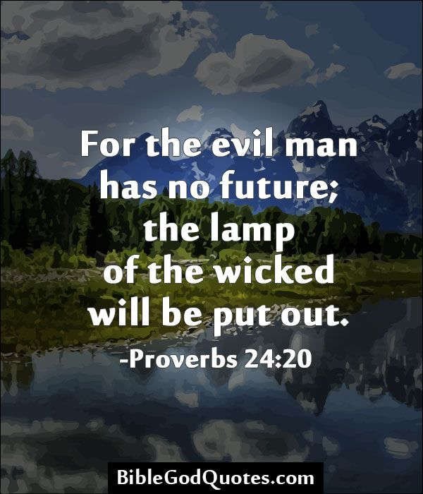 Quotes About Evil People From The Bible Quotesgram Quotes