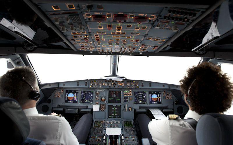 Dans un 747