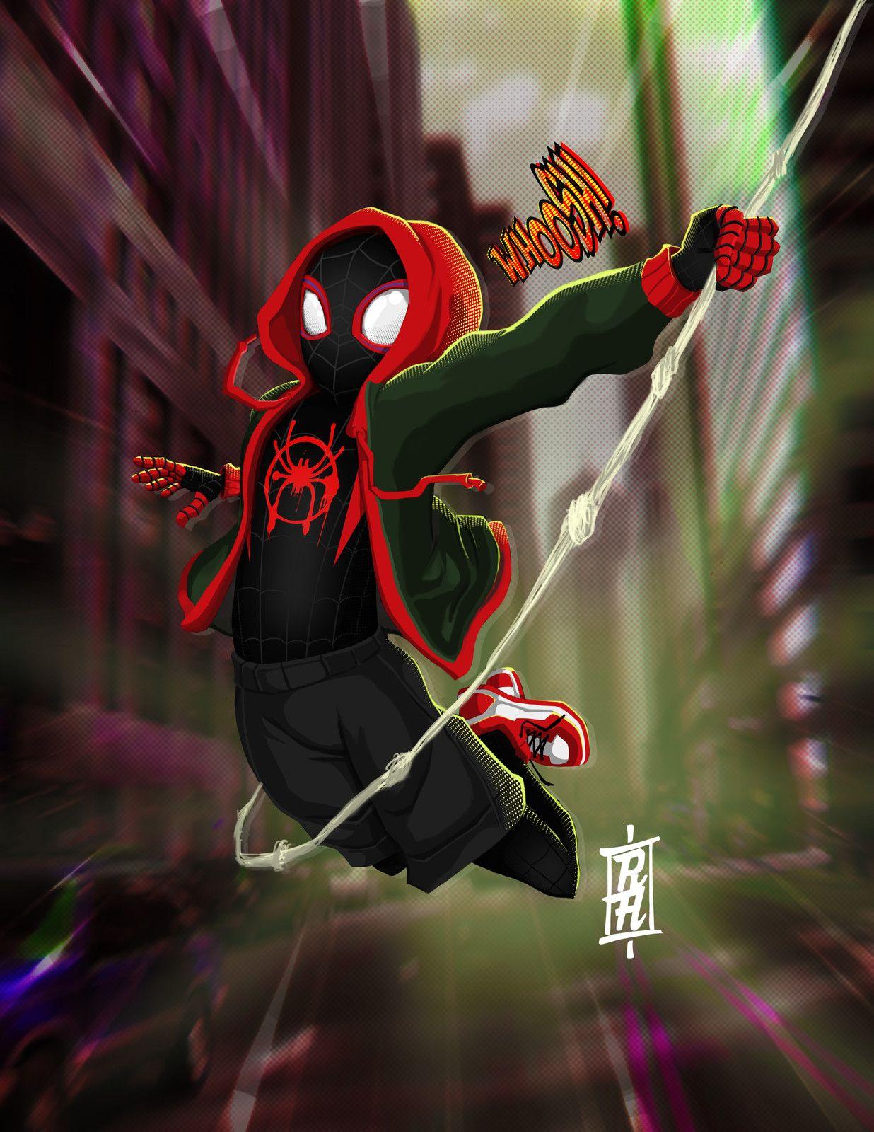 Pin by Kalt on Spider Verse Miles morales, Marvel