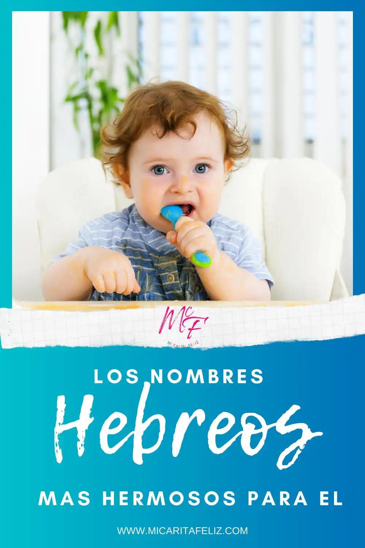 Los Nombres Hebreos Más Hermosos Para él Nombres De Niños Varones Nombres Hebreos Nombres Para Bebes Niños