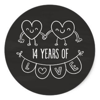 14th Year Anniversary Gifts T Shirts Art Posters Other Gift