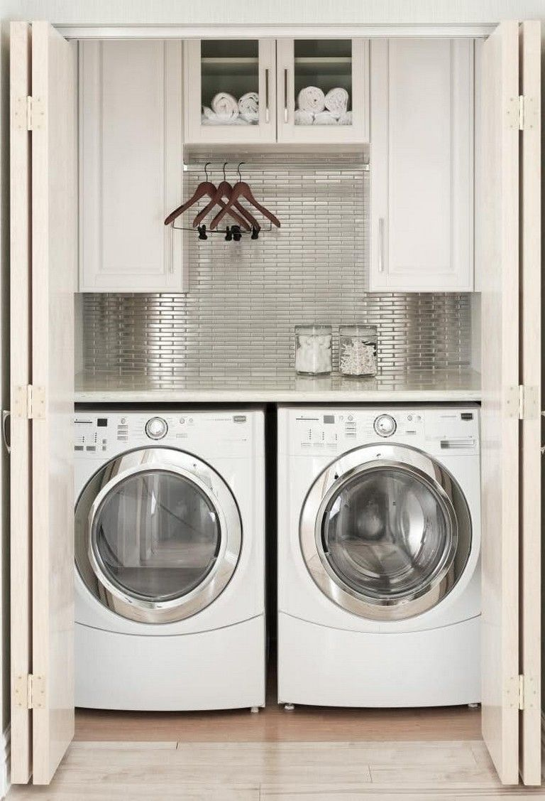 Nice 35 Insanely Creative Hidden Doors For Secret Rooms: 35+ Elegant And Functional Laundry Room Design Ideas