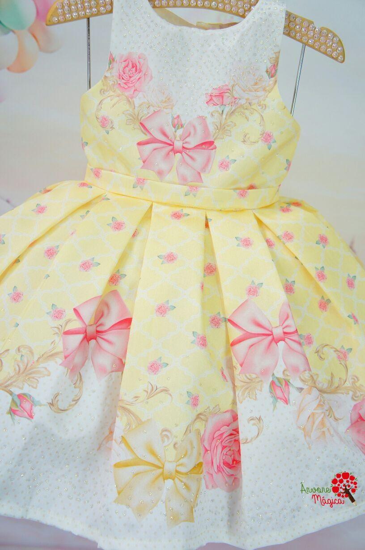 b01f1ba86 Vestido Infantil de Festa Petit Cherie na Árvore Mágica | Clothes ...