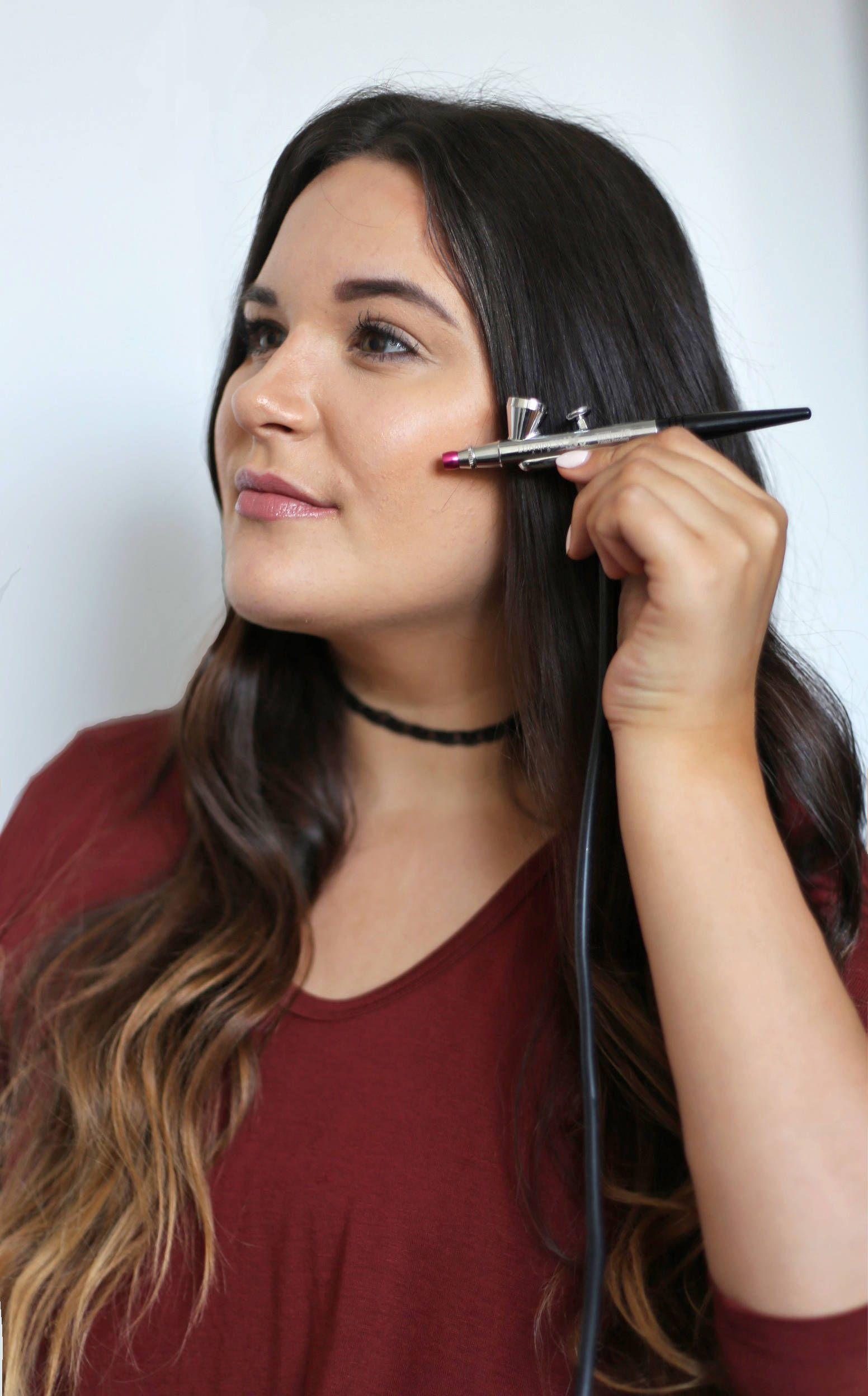 How to Contour Using Airbrush Makeup Airbrush makeup