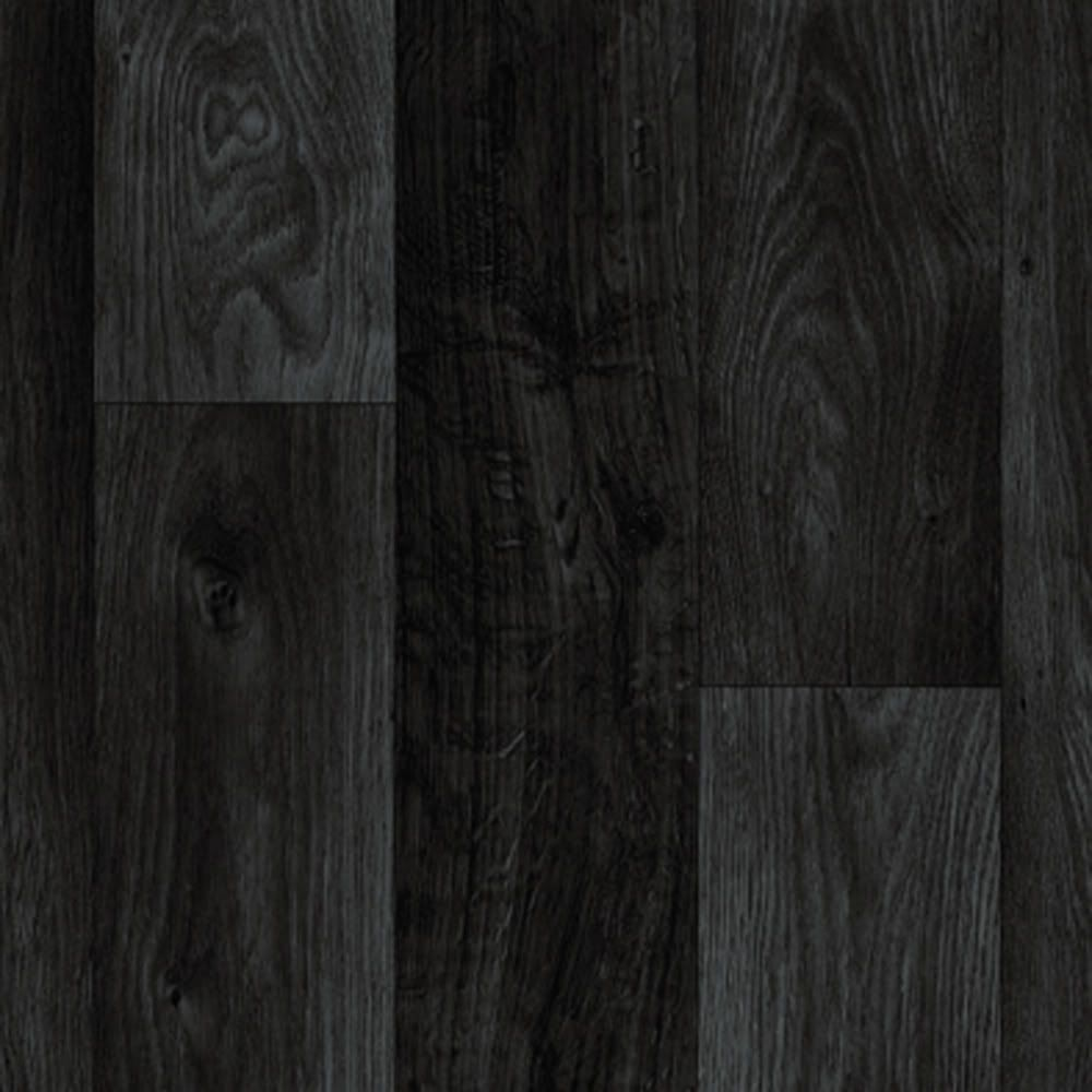 Non Slip Vinyl Flooring Kitchen Details About Black Dark Grey Wood Plank Vinyl Flooring Slip