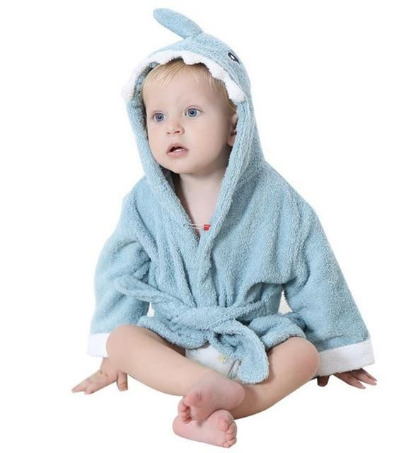 Soft Baby Towels with Animal Shape Hood | Lovely Baby Bath Towel High Quality Baby Hooded Bathrobe For Newborn Infant | Christmas Gift