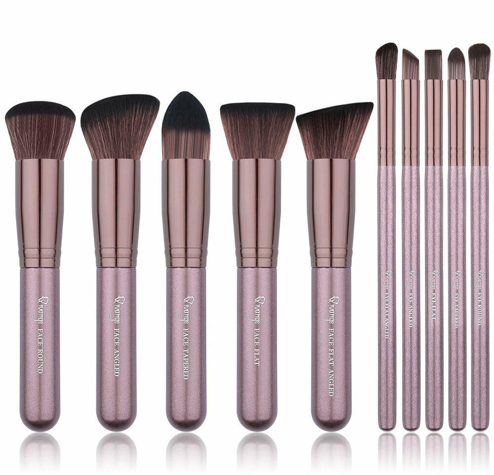 FULL FUNCTION KABUKI MAKEUP BRUSHES 10 in 1 makeup