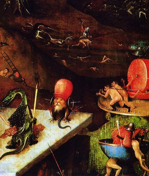 The Last Judgement (detail) by Hieronymus Bosch