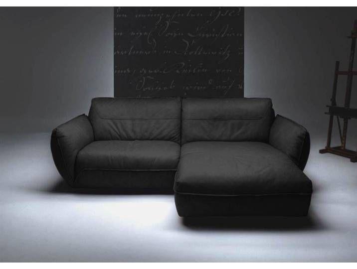 Ecksofa Ledersofa Echtleder Schwarz Kawola Davito Kasper Wohndesign Sofa Furniture Home