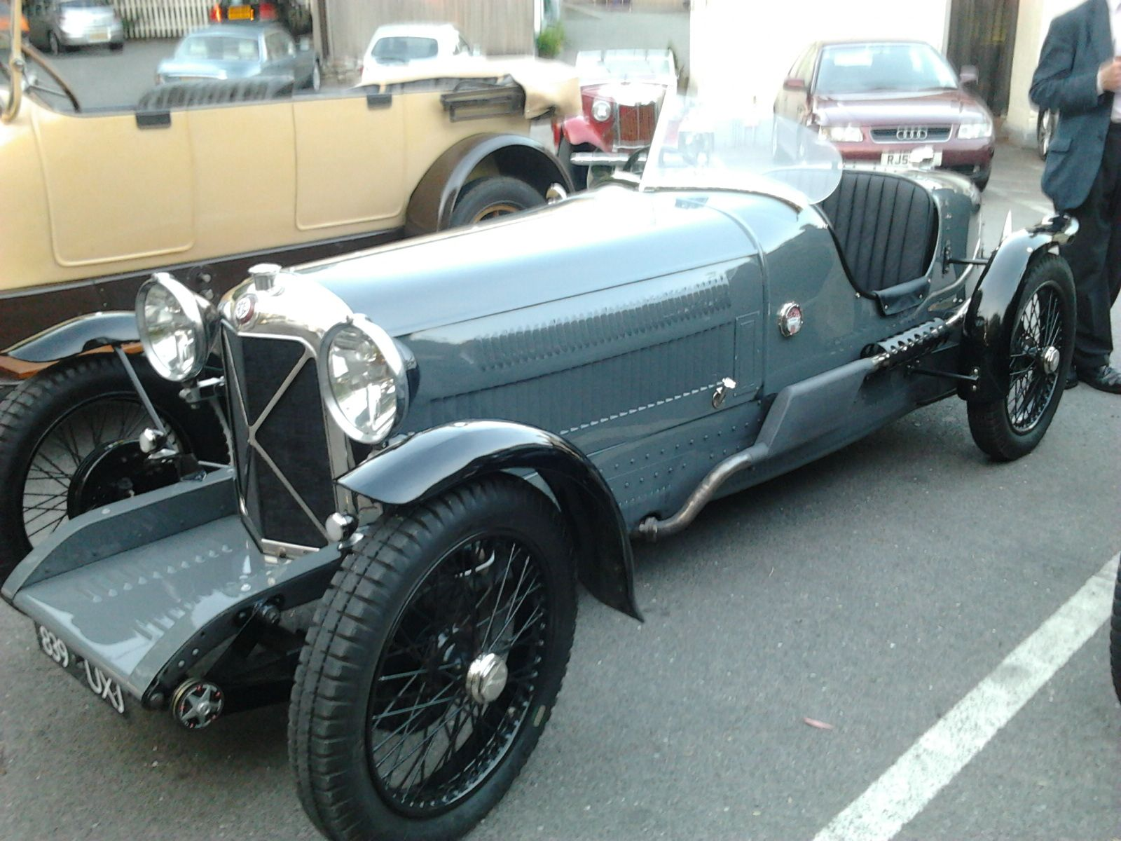 Cars from the Fish at Wixford | Spoked & Wire Wheel Cars | Pinterest ...