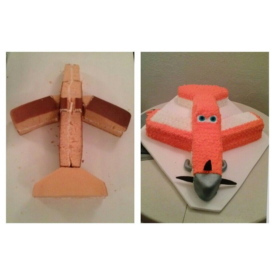 Dusty Crophopper Airplane Planes Cake