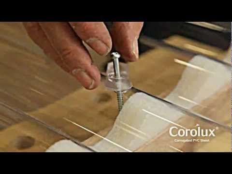 How To Install Ariel Corolux Pvc Roofing Sheets Youtube Pvc Roofing Pvc Roofing Sheets Roofing Sheets