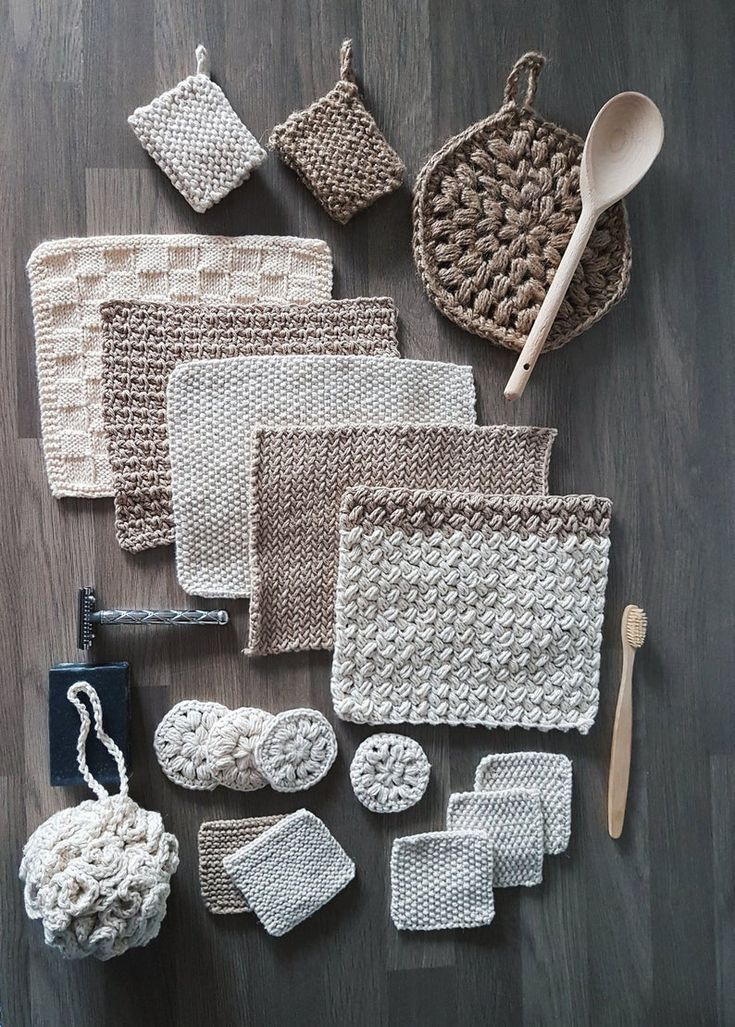 Photo of The Zero Waste Home Collection – crochet and knitting pattern