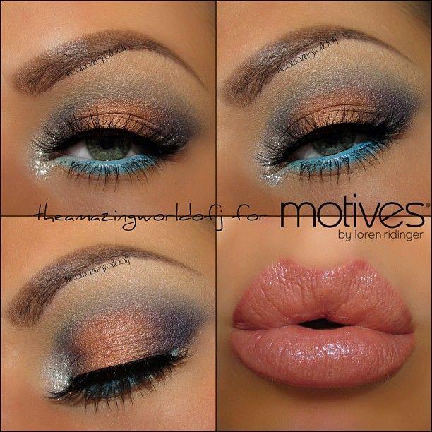 Wonderful work by #theamazingworldofj using #motivescosmetics