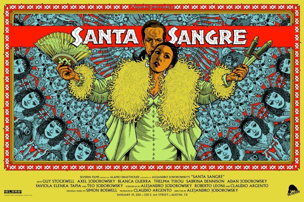 Santa Sangre Alejandro Jodorowsky Mondo Posters Canvas Prints