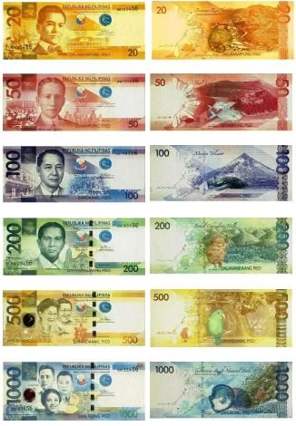 Filipino Pesos How Come American Currency Isn T This Pretty