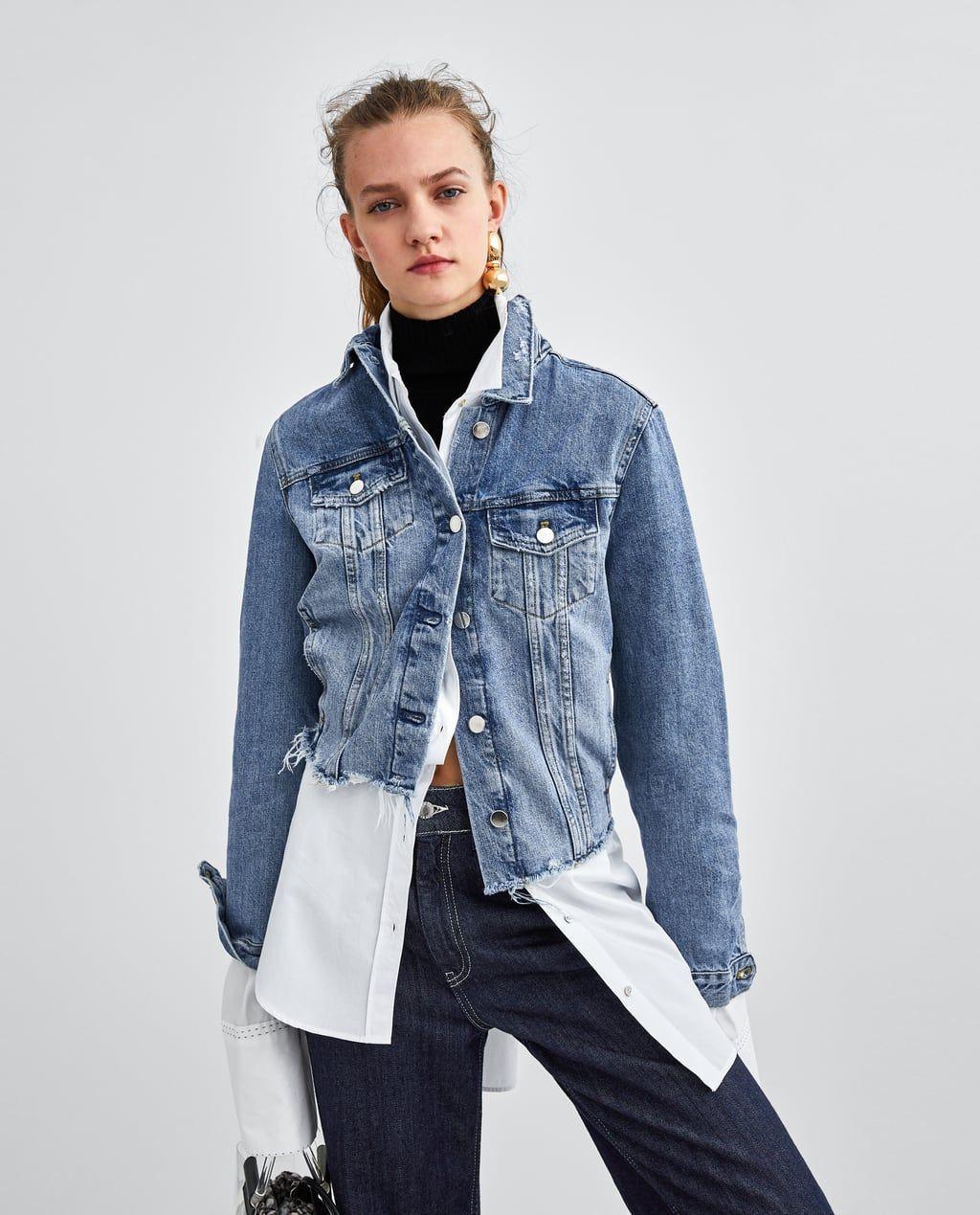 d0fb6fdf Authentic denim ripped jacket | Wardrobe | Jackets, Denim, Ripped denim