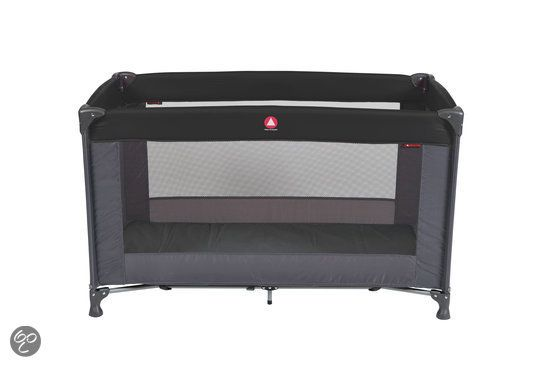 Campingbedje Topmark Rich.Logeerbed In Tas Charlie Black Baby Inspiration Casa Opala