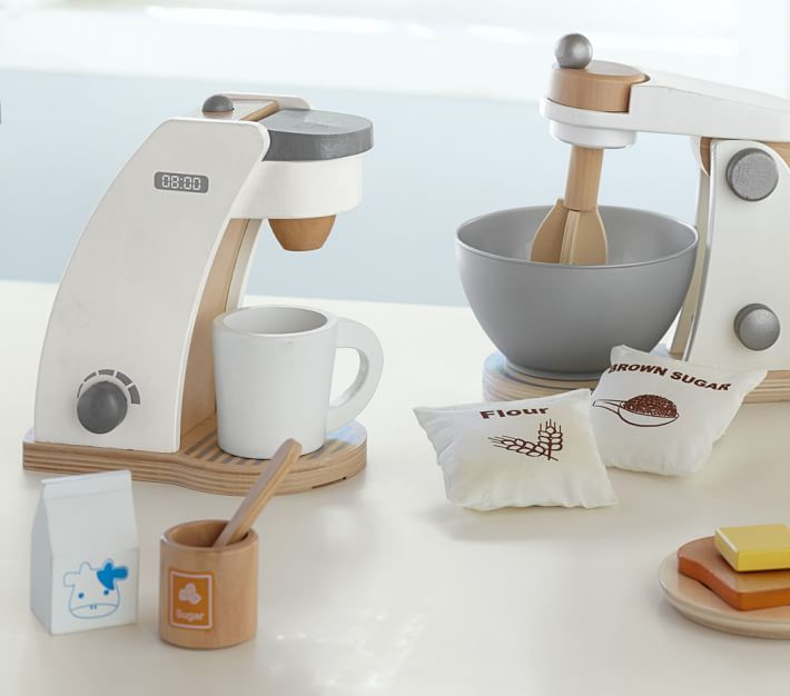 Wooden Appliances Toy Kitchen Accessories Pottery Barn
