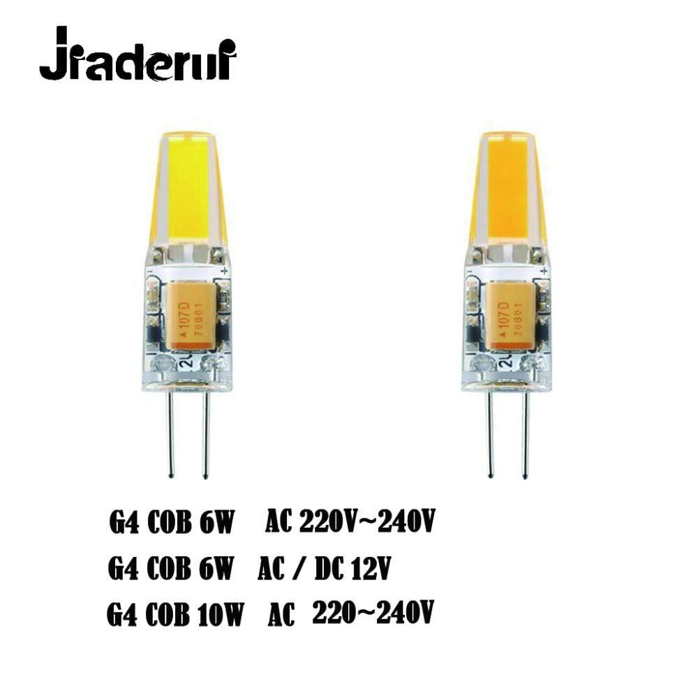 Jiaderui G4 Led Bulb Cob 12v Ac Dc 6w Ac 220v 6w Us 4 31 Led Bulb G4 Led Bulb