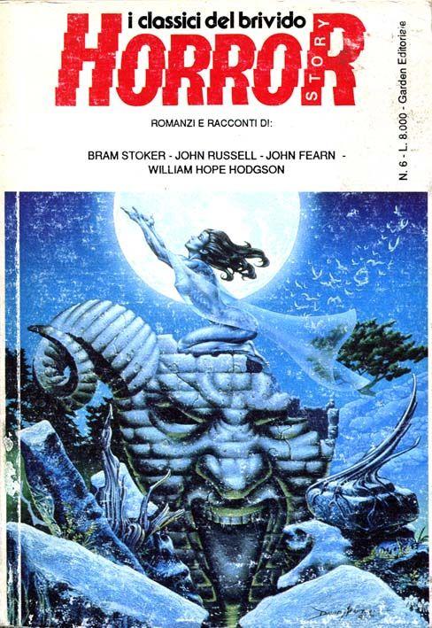 """""""Horror Story 6"""" #GardenEditoriale #Horror #Carnacki #BramStoker #WilliamHopeHodgson"""