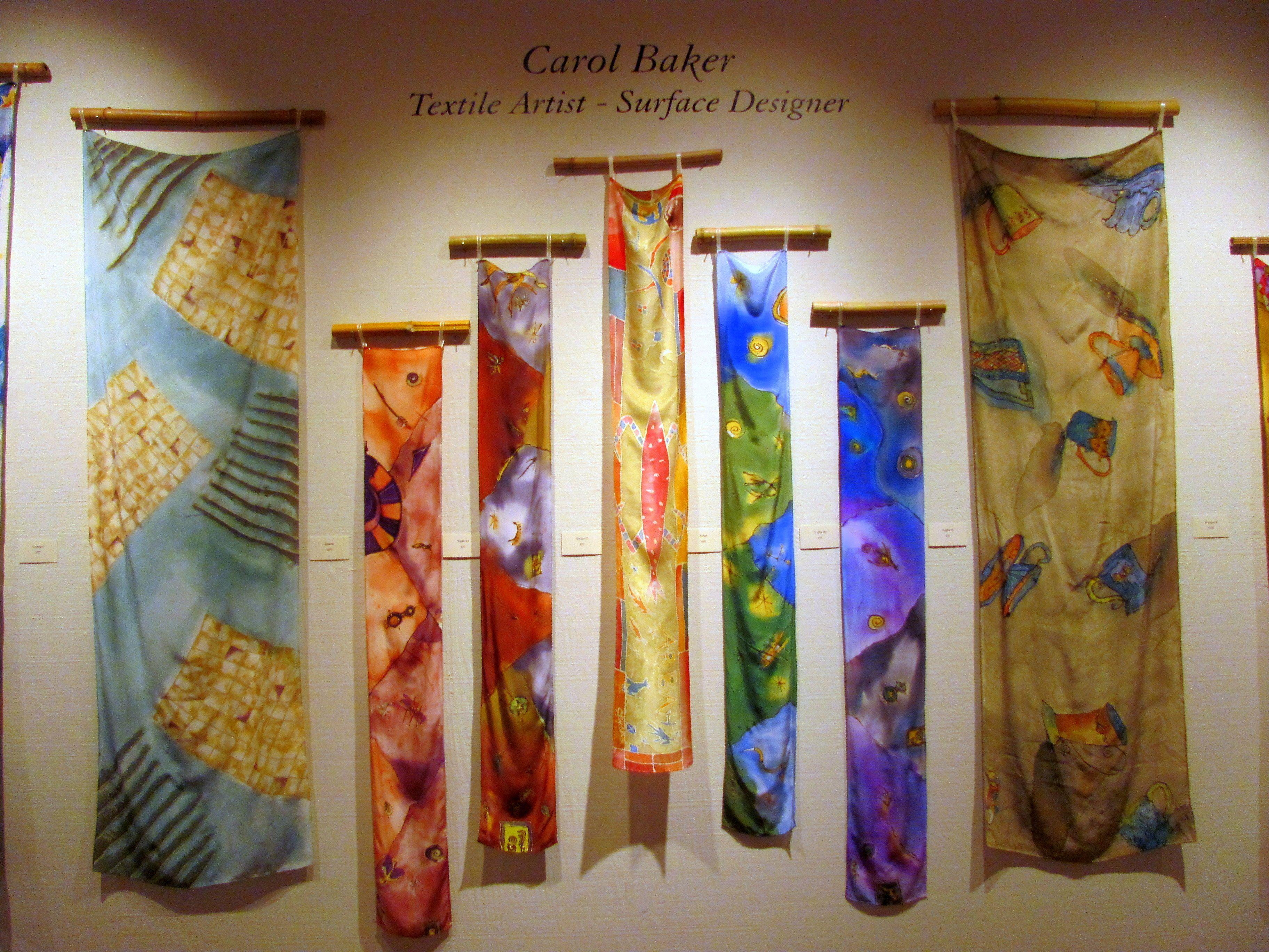 Carol Baker Textile Artist Surface Designer