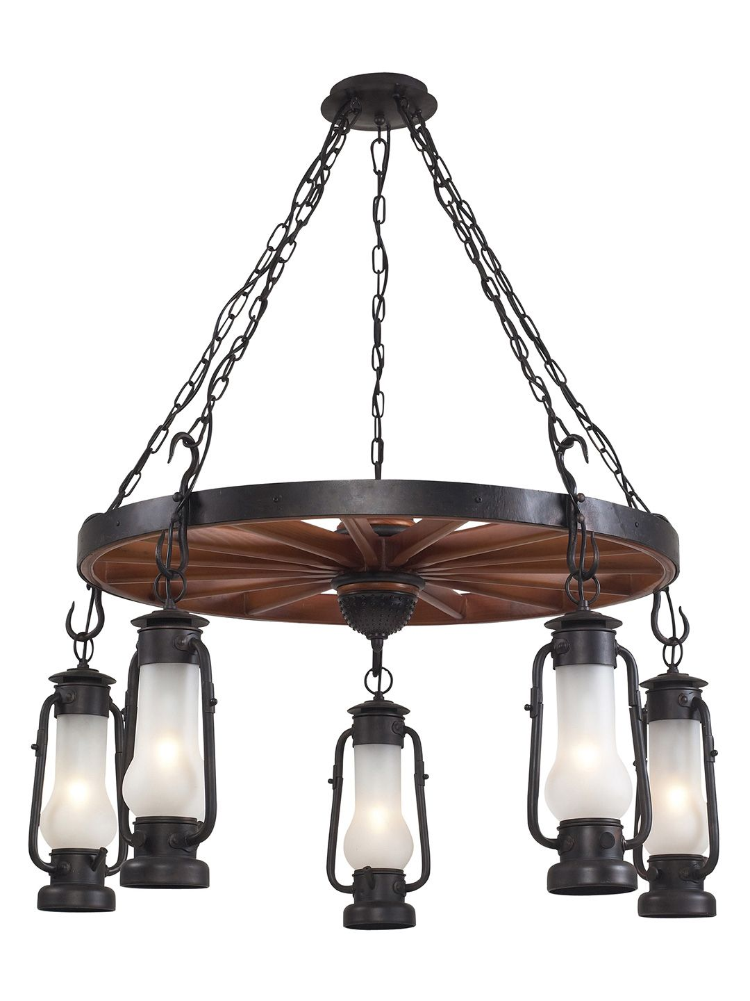Chapman 5 light chandelier by artistic lighting at gilt house i would love to see this with a ships wheel in the center landmark lighting chapman 5 light chandelier in matte black arubaitofo Image collections