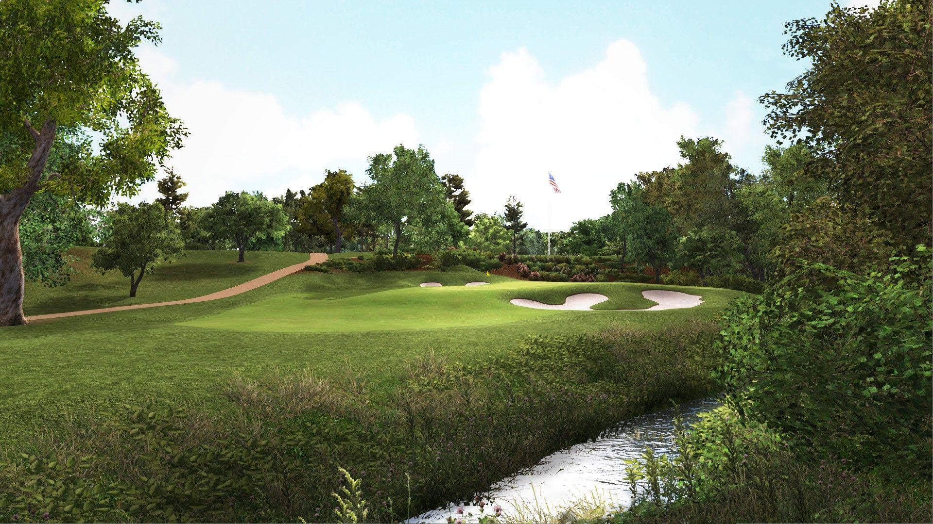 Trackman Simulator Course Bellerive Golf Simulators Indoor Golf Simulator Simulation