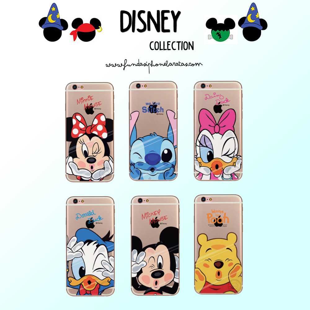 63fd9b409f5 Fundas Disney para iPhone 7, 7 Plus #Disney #WaltDisney #Stitch  #Winniethepooh #MinnieMouse #MickeyMouse #Gooffy #Pluto #FundasDisney  #iPhone7 #iPhone7Plus ...