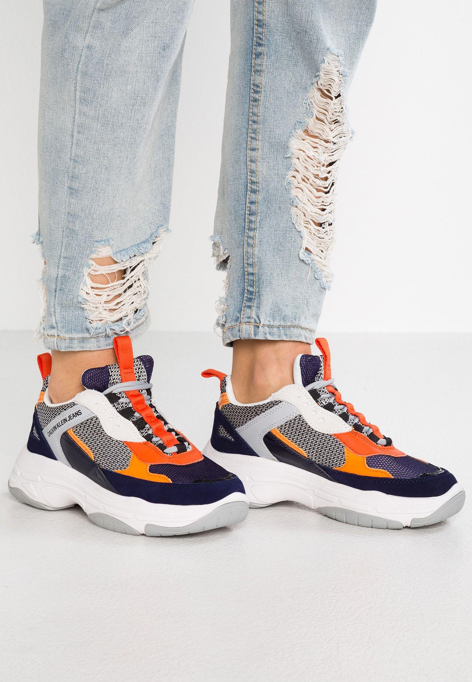 MAYA Sneakers laag navylight greyorange @ Zalando.nl
