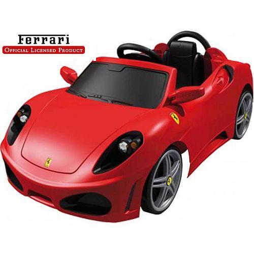 My Favorite Ferrari In A Power Wheels Form I Want This Feber Ferrari F430 6 Volt Car Feber Toys R Us Battery Powered Car Ferrari F430 Car