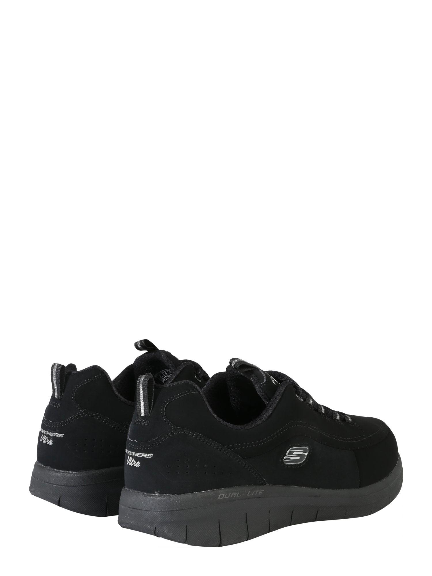 SKECHERS Sneakers 'SYNERGY 2.0 SIDE STEP' Damen, Schwarz