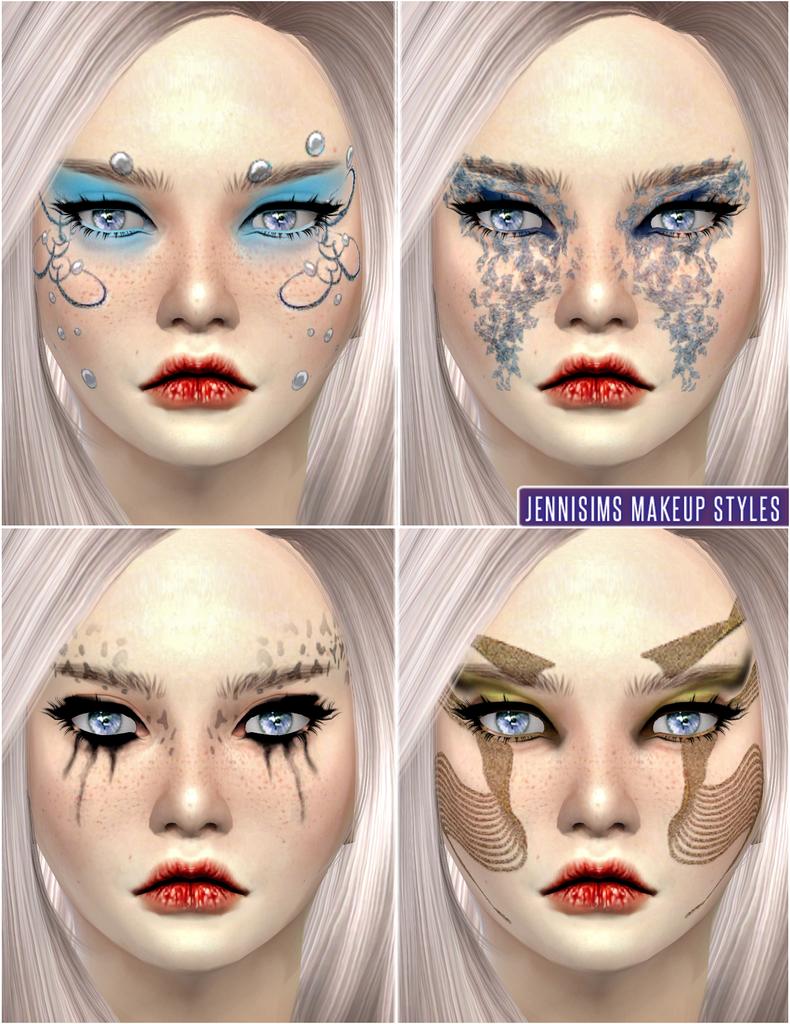Jennisims Sims Makeup Soft Fantasy Fairies