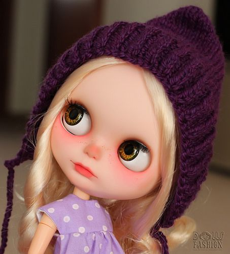 """Hat """"Gnome"""" for Blythe Dolls   Flickr - Photo Sharing!"""