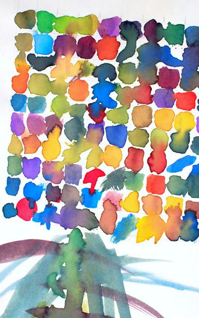 100 Color Challenge- See what 100 looks like with this great math and art activity for preschoolers and kindergartners!
